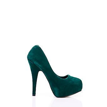 Classic Velour Court Shoes 21797
