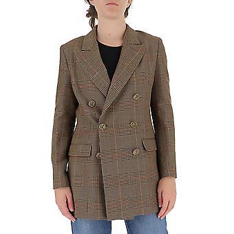 L'autre Koos B1570287020f870 Women's Brown Wool Blazer