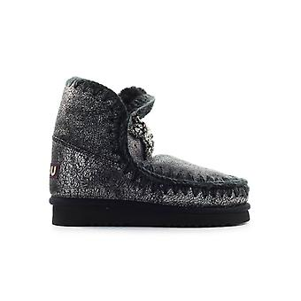 MOU ESKIMO 18 FRONT STAR PATCH BLACK BOOTIE