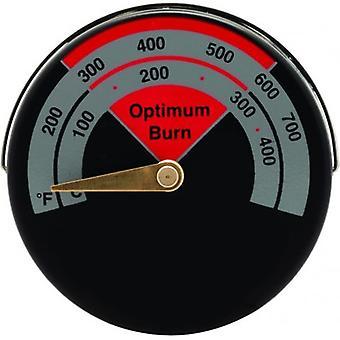 Kabalo spis temperaturmätare Termometer Rökrör Magnetiskt kol Vebrännbrännar Matlagning Tillbehör