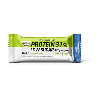Protein 31% Low Sugar Dark chocolate coconut 1 unit