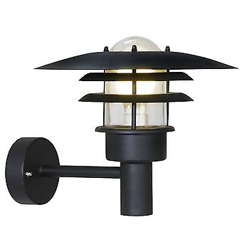 1 Licht Buitenmuurlantaarn Licht Zwart IP44, E27