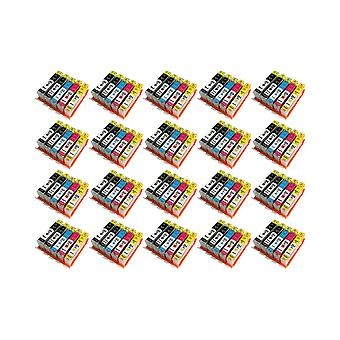 RudyTwos 20x Replacement for HP 364XL Ink Unit Black Cyan Magenta & Yellow Compatible with HP Photosmart 7510, 7520, B8550, B8553, B8558, C5324, C5370, C5373, C5380, C5383, C5388, C5390, C5393, C6324,