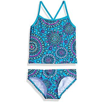 Kanu Surf Little Girls' Melanie Beach Sport 2-Piece banded Tankini Swimsuit, ...