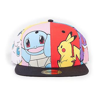 Pokemon Tecken PopArt Snapback Baseball Cap Unisex Multi-färg SB844820POK