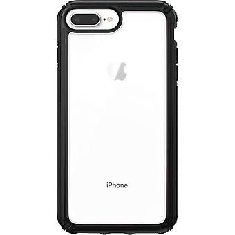 Speck Presidio V-Grip Case for iPhone 8 Plus/7 Plus/6s Plus - Black/Clear