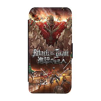 Manga Attack On Titan Samsung Galaxy S9 Wallet Case