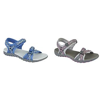PDQ Womens/Ladies Adjustable Sandals