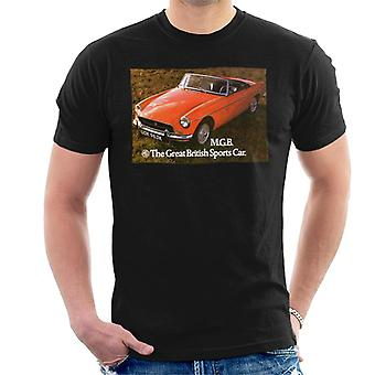 MG The Great British Sports Car British Motor Heritage Men's T-Shirt