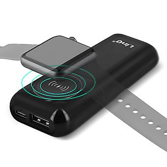 External Battery 3200mAh Apple Watch 2A USB Cable 3 in 1 Black LinQ