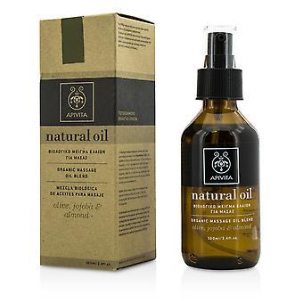 Natural oil olive, jojoba & almond organic massage oil blend 201614 100ml/3.4oz