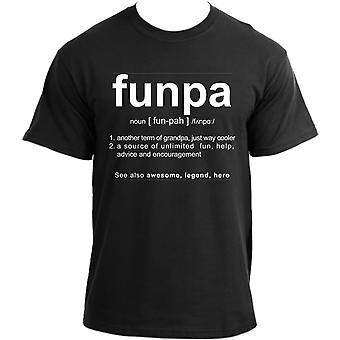 Funpa T-Shirt I Grandpa Definition T Shirt I Grandfather Humor Cool Very Funny Grampa Tshirt