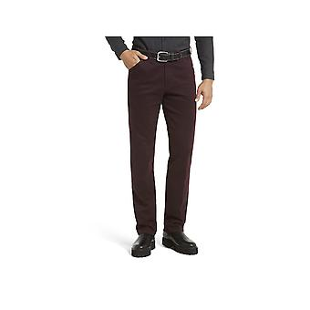 Meyer Chicago Cotton Trouser Burgundy