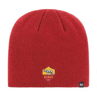 47 Brand Knit Beanie Winter Hat - AS Roma Red