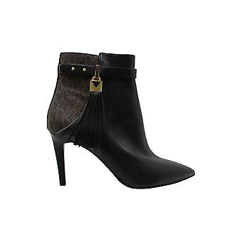 Michael Michael Kors Womens Winslow Flex Leather Pointed Toe Ankle Fashion Bo...