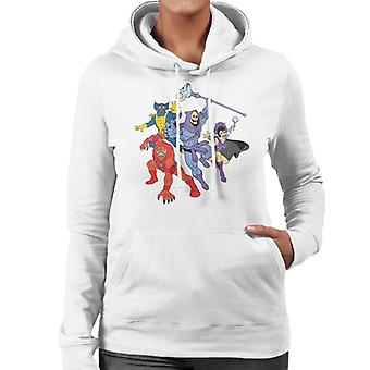 Masters Of The Universe Skeletor Evil Lyn Et Al Women's Hooded Sweatshirt
