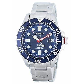 Seiko Prospex Padi Special Edition Solar Diver-apos;s 200m Sne435 Sne435p1 Sne435p Men's Watch