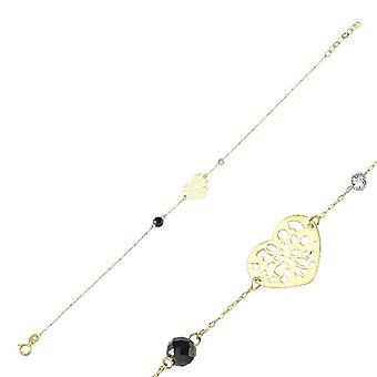 Bracelet en diamant de coeur
