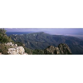 サンディア山脈アルバカーキ ニュー メキシコ米国ポスター印刷