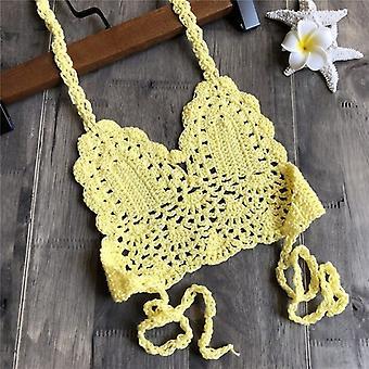 Crochet Straps Bikini Set