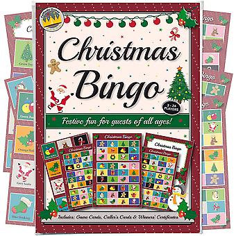 Gioco di bingo per feste di Natale: divertimento per gli ospiti di tutte le età - più divertente di un quiz di Natale! Novità