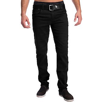 Mens Chino 5-lomme jeans Slim Fit bukse strekke Decatur bukser konisk