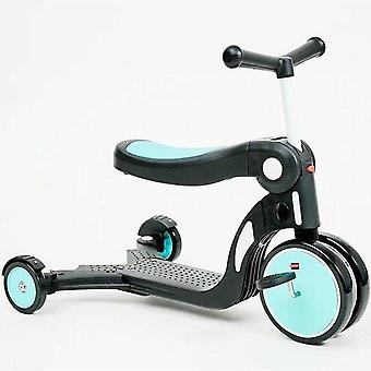 5 In 1 Outdoor, Tricycle, Balance Bike, Walker Multifunction Scooter