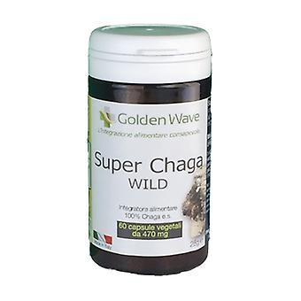 Super Chaga wild 60 vegetable capsules of 470mg