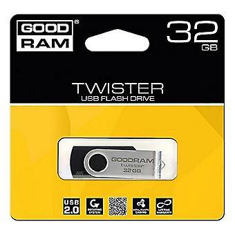 Memory Stick GoodRam UTS2 USB 2.0 Noir