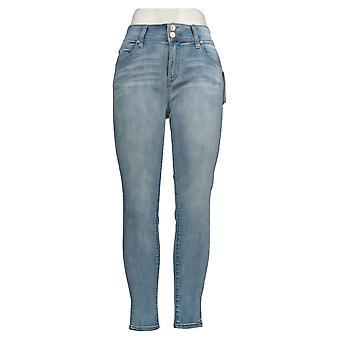 WallFlower Juniors' Midrise Ultra Skinny Leg Blue 61