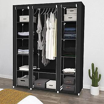 Non Woven Cabinet - Fold Portable Storage Furniture Anti Dust Closet