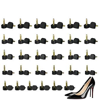 60piece/set High Heels Shoes Repair Tips/pins, Replacement Taps Lady Stoppers