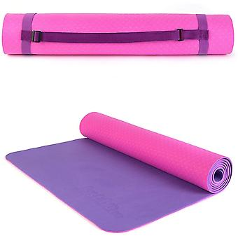 just be... Yoga mat Non Slip Exercise Mattress 5mm thick Eco friendly 183*61cm