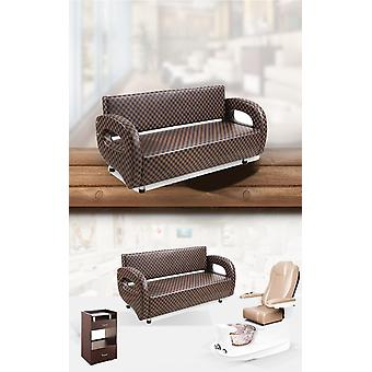 Hair Salon Chairs With Waiting Sofas
