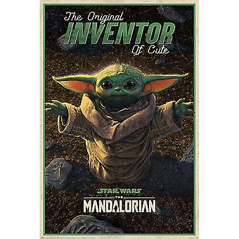 Star Wars: The Mandalorian Inventor of Cute Poster