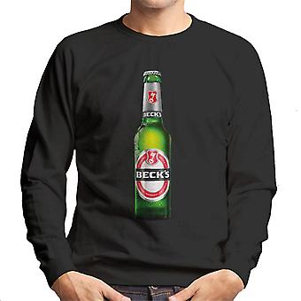 Beck's Bottle Men's Sweatshirt