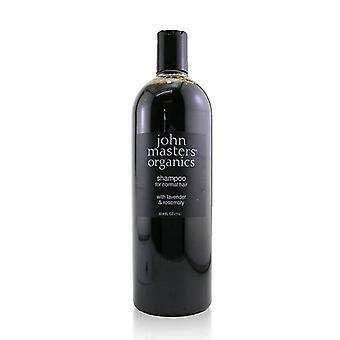 John Masters Organics Shampoo For Normal Hair With Lavender & Rosemary - 1000ml/33.8oz