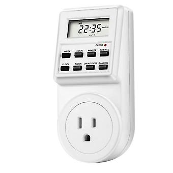 Plug Digital Heti Programozható elektromos fali plug-in konnektor időzítő