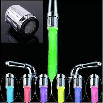 Novelty Design Rgb Colorful Led Light Water Glow Faucet Bathroom Decoration