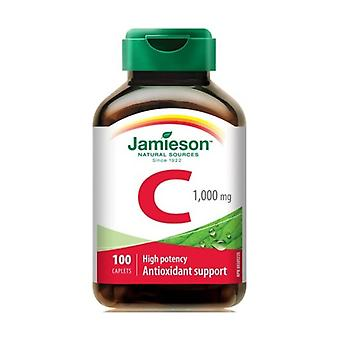 Vitamin C (Delayed Action) 100 tablets of 1000mg