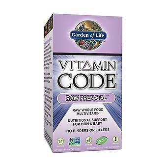 Vitamin code RAW Prenatal 90 vegetable capsules