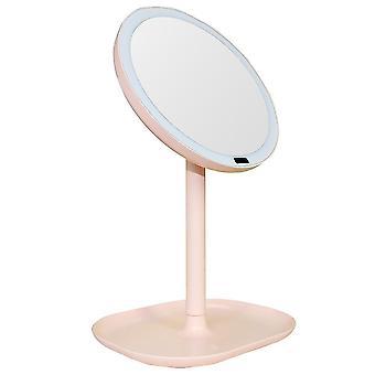 مرآة ماكياج ضوء الحساس الذكي القابلة للتناوب