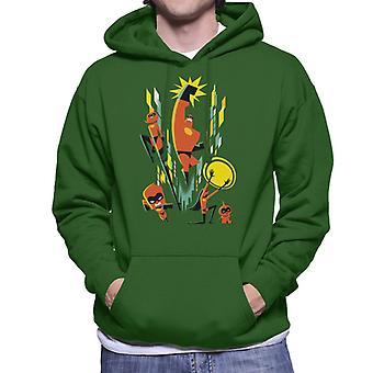 Pixar The Incredibles Superhero Family Men's Hooded Sweatshirt
