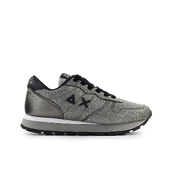 Sun68 Ally Solid Glitter Silver Sneaker
