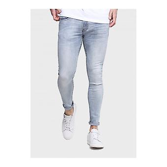 883 Police Moriarty Slim Fit Light Blue Jeans