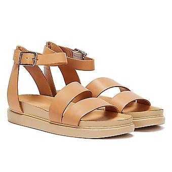 Vagabond Erin Ankle Strap Womens Beige Sandals