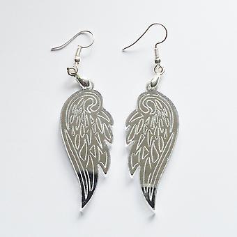 Angel Wings Acryl Oorbellen