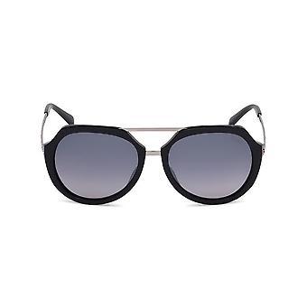 Emilio Pucci - accessories - sunglasses - EP0032-01C - ladies - black,silver