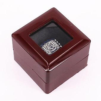 Passato maestro anello massossone in zirconia con scatola di velluto