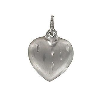 Pasionista-Women's Pendant in Sterling Silver 925 Rhodium Plated, Matt Finish 612317